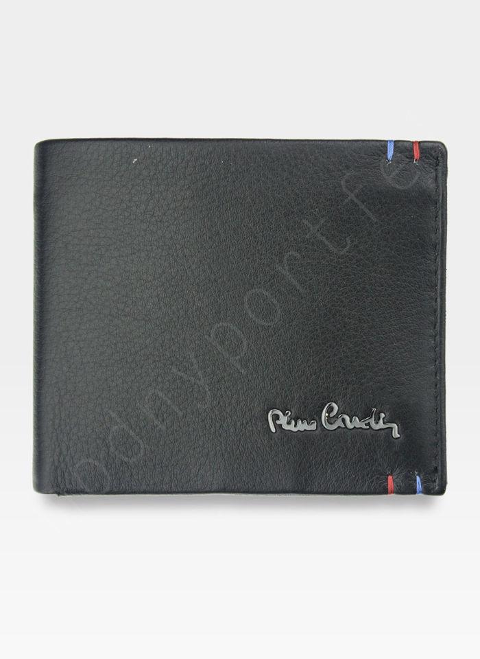 Mały I Cienki  Portfel Męski PIERRE CARDIN Skórzany Tilak22 8824 RFID