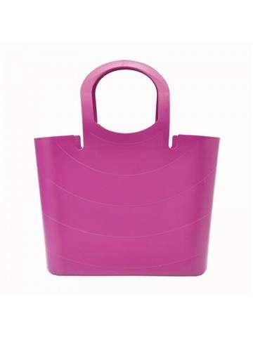 Damska Torebka ekologiczna A4 Gregorio Lucy ITLU400 Shopper Bag fuksja