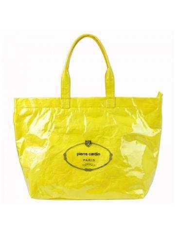 Damska Torebka ekologiczna A4 Pierre Cardin 8003 RX86 żółty