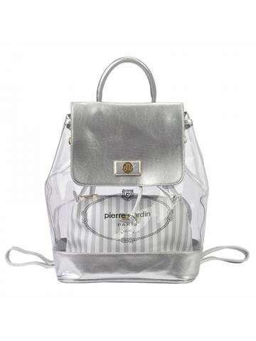 356da25b0c02a Damska Torebka ekologiczna Pierre Cardin 4042 RX54 biały + srebrny ...