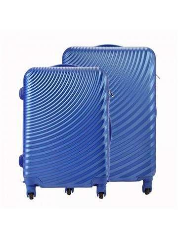 Komplet walizek 2w1 A4 Pierre Cardin ABS8077 RUIAN11 x2 Z jeans