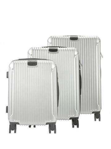 Komplet walizek 3w1 A4 Pierre Cardin 8011 RUIAN05 Z popiel