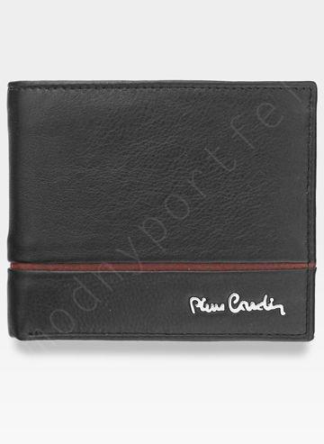 Mały Cienki Portfel Męski Pierre Cardin Skórzany Tilak15 8824 Sahara RFID