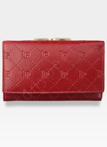 Portfel Damski Skórzany PETERSON 4476 Czerwony