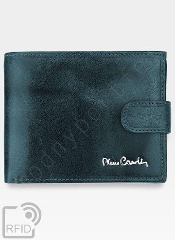 Portfel Męski Pierre Cardin Skórzany Klasyczny Poziomy Zapinany Tilak12 324 RFID