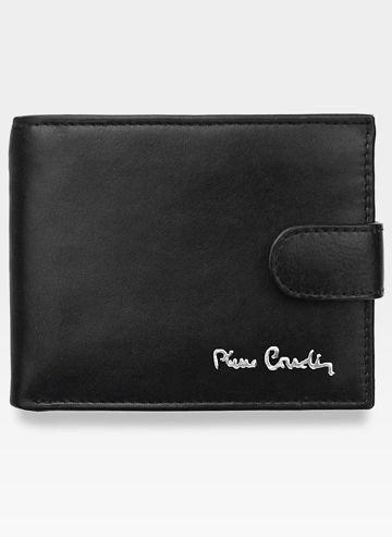 Portfel Męski Zapinany Pierre Cardin Skórzany Klasyczny Tilak06 323A Pudełko Ochrona RFID