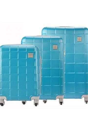 Zestaw walizek Pierre Cardin ABS1218 RUIAN02 x3 Z turkus