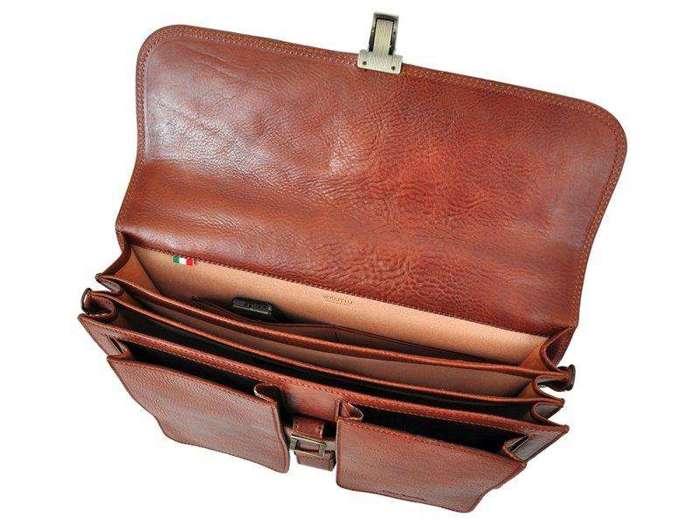 A4 Pierre Cardin 1294 RM02 brązowy
