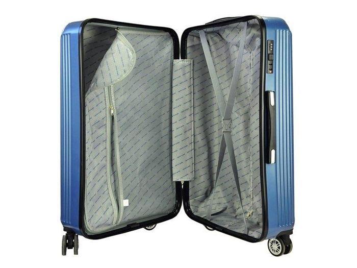 Komplet walizek 3w1 A4 Pierre Cardin 8011 RUIAN05 Z zielony