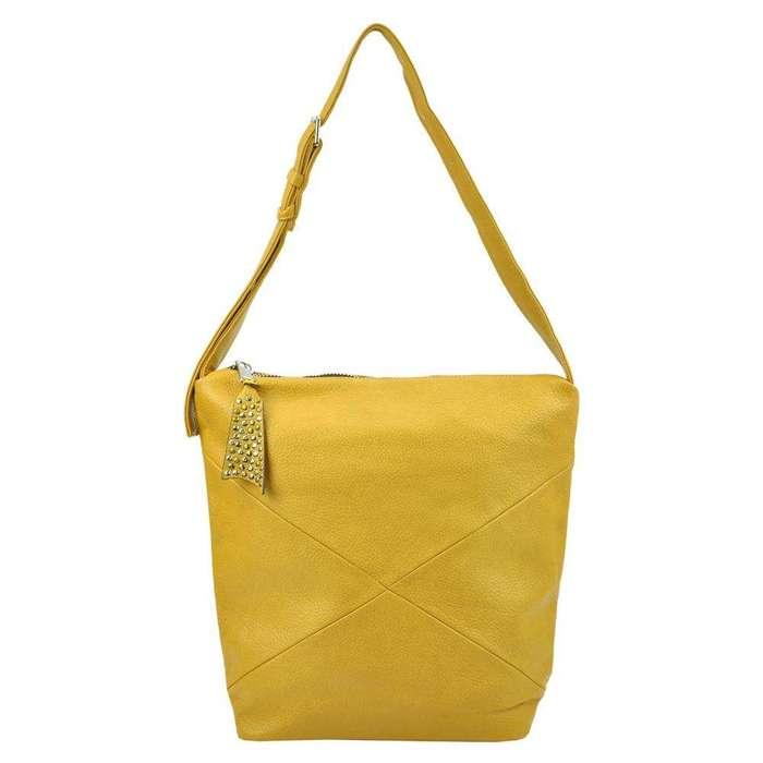 Damska Torebka ekologiczna A4 Lookat LK-H0071 żółty
