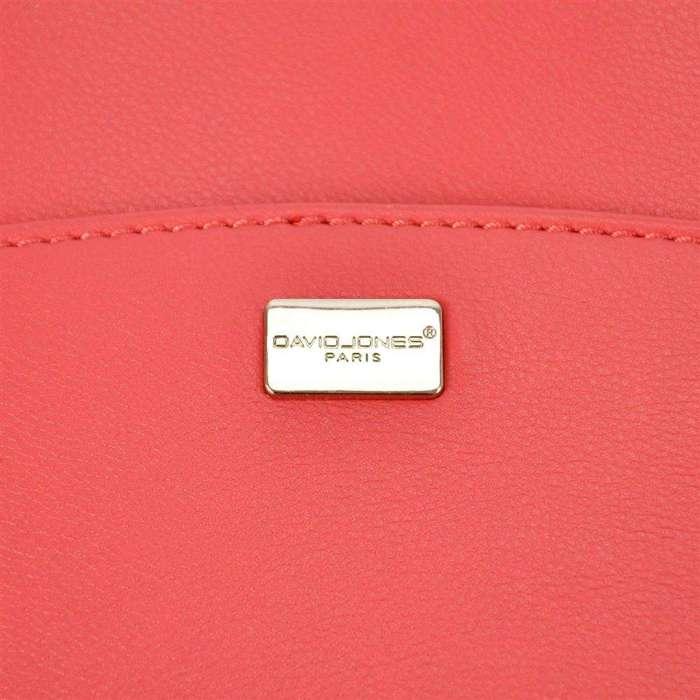 Damska Torebka ekologiczna David Jones SS5018 czerwony
