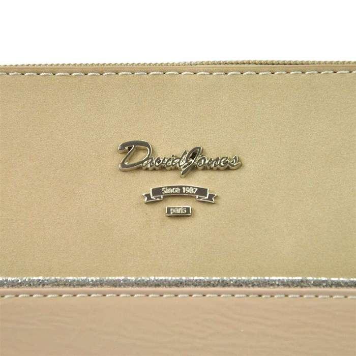Damska Torebka ekologiczna David Jones SS5930-1 różowy