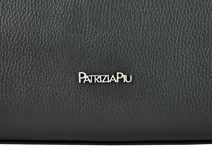 Damska Torebka Skórzana A4 Patrizia Piu 118-012 jasny popiel