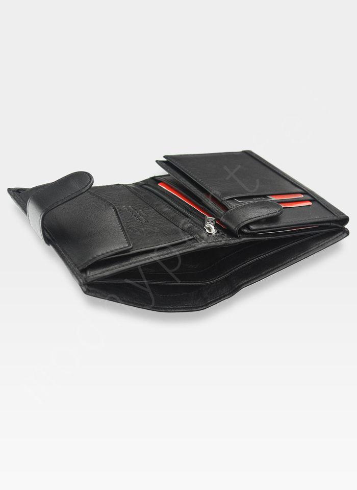 Fajny portfel męski Desert Pierre Cardin Tilak26 326A Sahara RFID