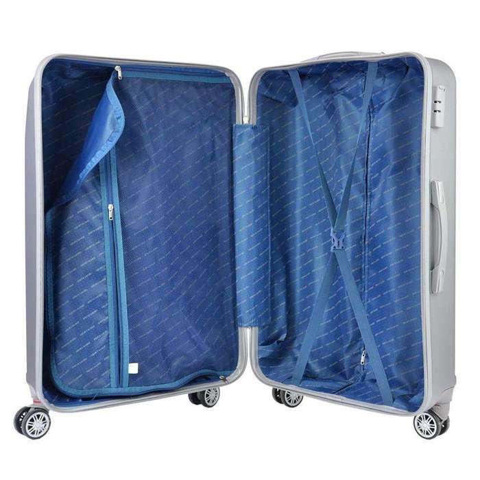 Komplet walizek 3w1 Pierre Cardin ABS1256 RUIAN10 x3 Z żółty