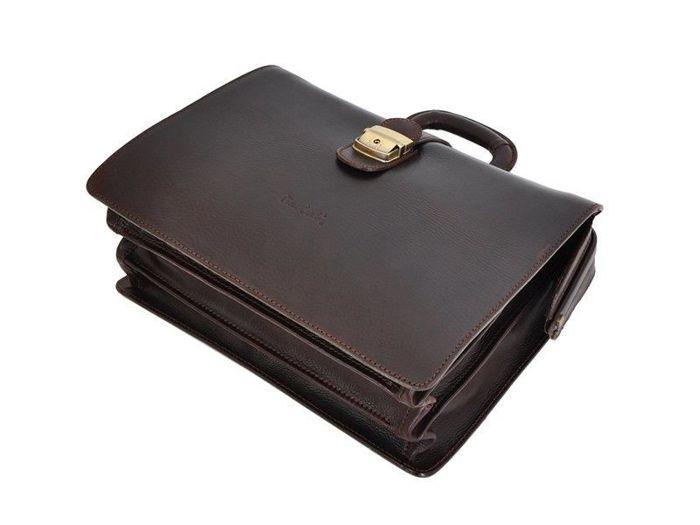 Kuferek Lekarski A4 Pierre Cardin 1051 RM02 ciemny brąz