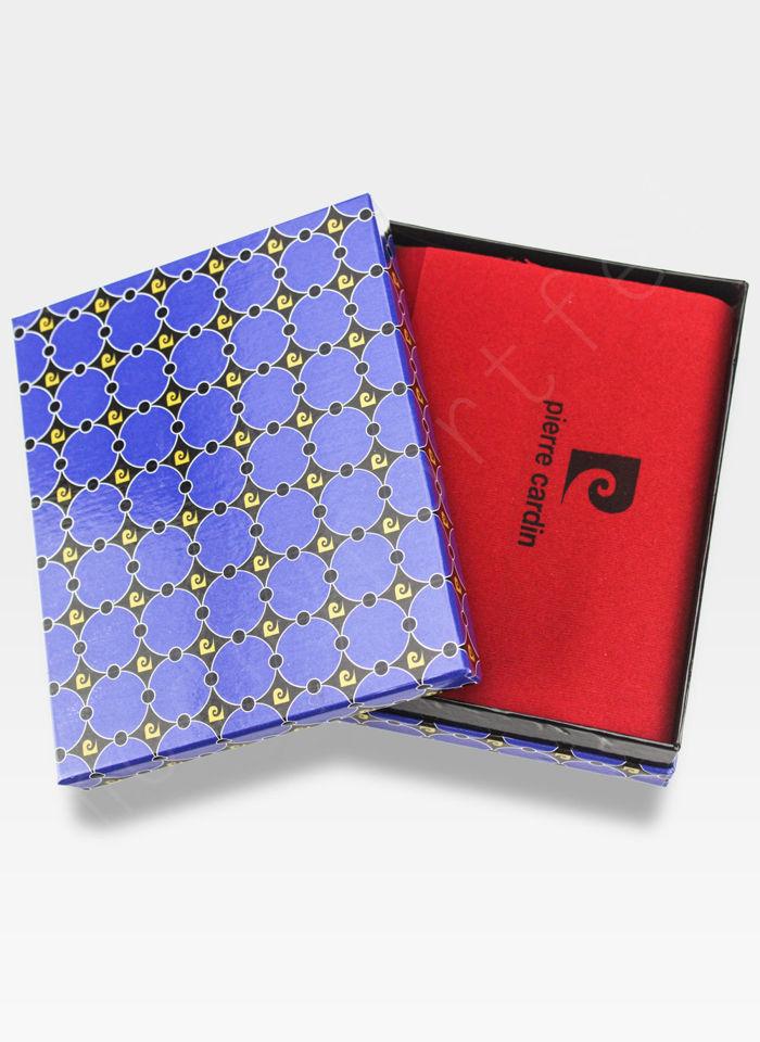Mały I Cienki  Portfel Męski PIERRE CARDIN Skórzany Tilak24 8824 RFID