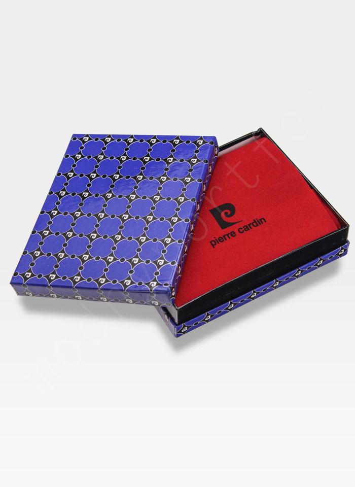 Markowy portfel męski Calm Ocean Pierre Cardin Tilak26 8806 RFID