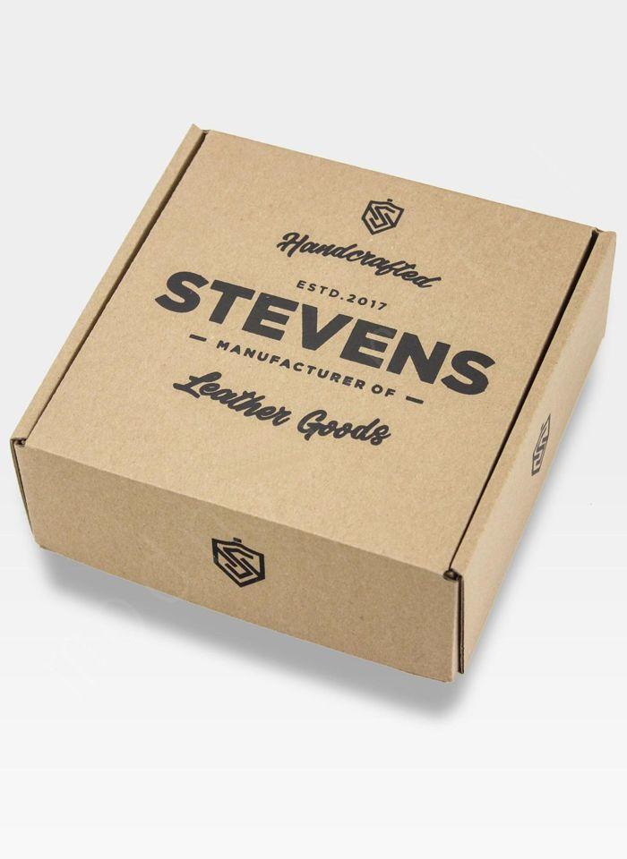 Pasek parciany do spodni marki Stevens w komplecie z pudełkiem