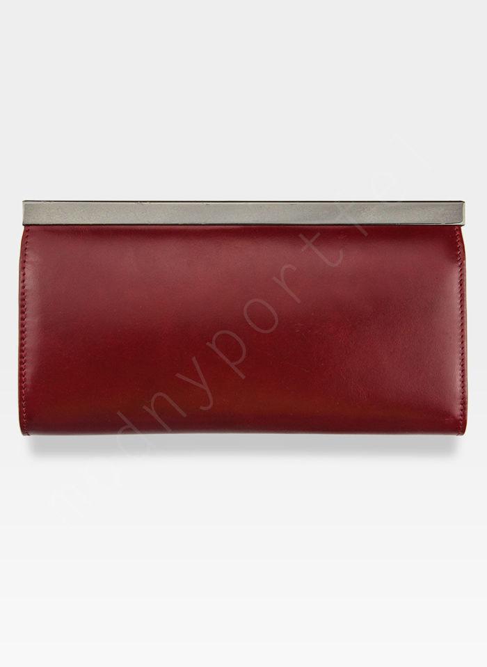Portfel Damski Skórzany PETERSON 468 Czerwony