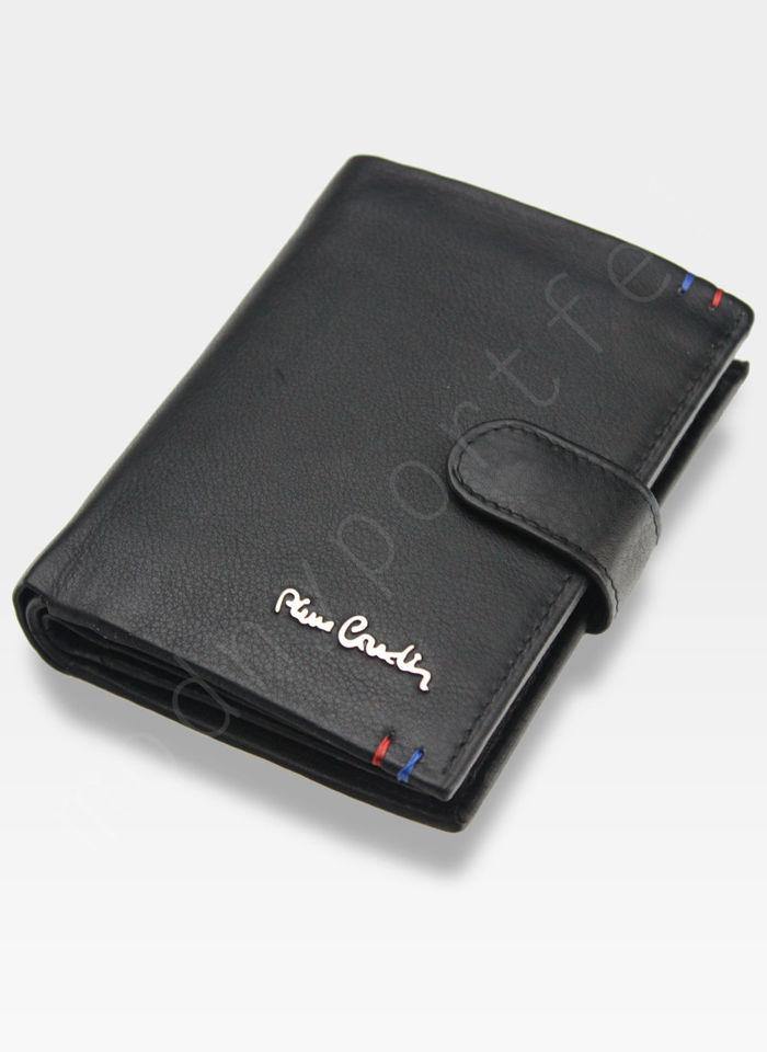 Portfel Męski Pierre Cardin Skórzany Klasyczny Pionowy Zapinany Tilak22 326A RFID