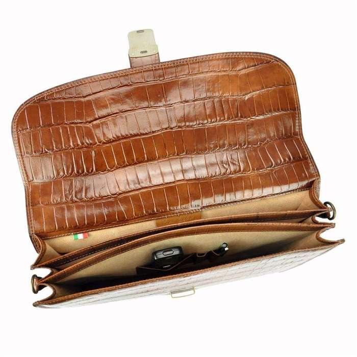 Teczka Aktówka A4 Pierre Cardin 1015 RM02 COCCO brązowy