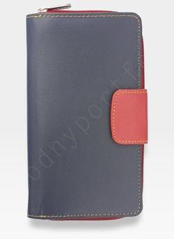 Yoshi Portfel Damski Skórzany Czerwony Multi Y By Yoshi Y1019 26